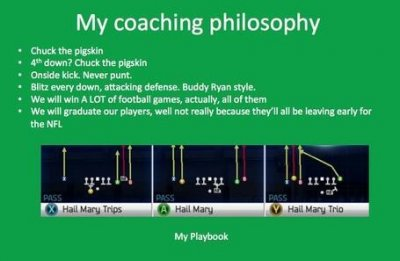Man applies for University of North Dakota coaching job based on his Madden skills