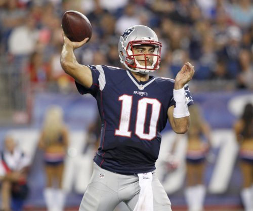 New England Patriots' Jimmy Garoppolo clearly a work in progress