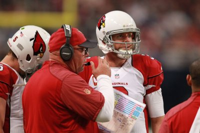 Bruce Arians drank paint as a child, says Carson Palmer throws better deep than Peyton Manning