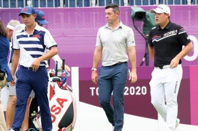 Austria's Sepp Straka ties Olympic record, leads men's golf at Tokyo Games