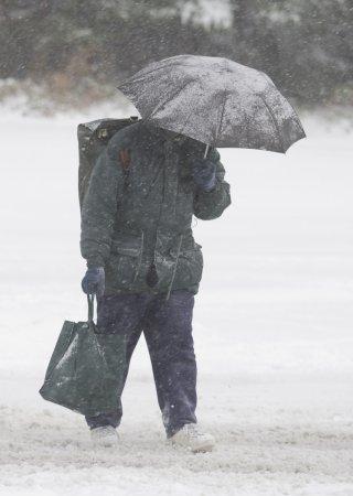 Winter storm socks Washington state