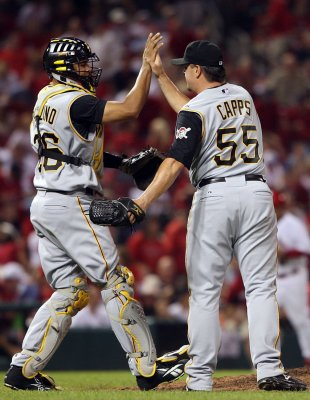 MLB: Pittsburgh 5, St. Louis 4