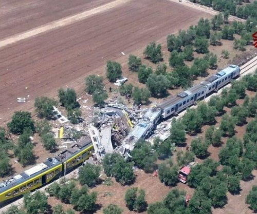 Dozens dead after Italian passenger trains collide head-on, officials say