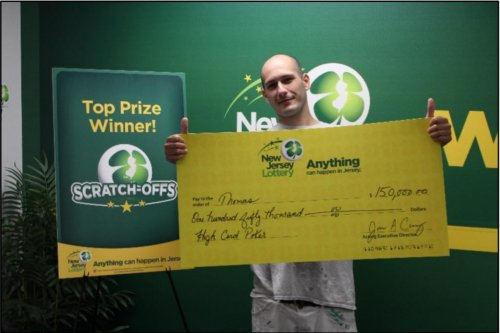 Lottery player wins $150,000 in New Jersey, $100,000 in Pennsylvania