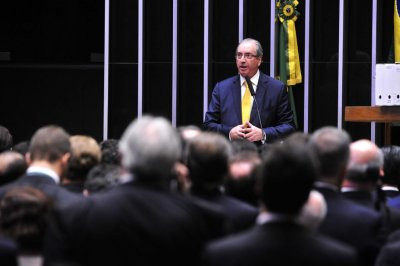 Brazil's ex-speaker Eduardo Cuhna arrested in bribery investigation