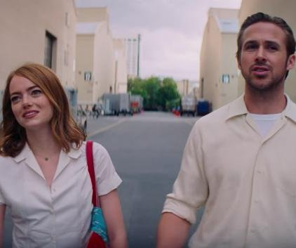 Emma Stone, Ryan Gosling dream big in 'La La Land' trailer