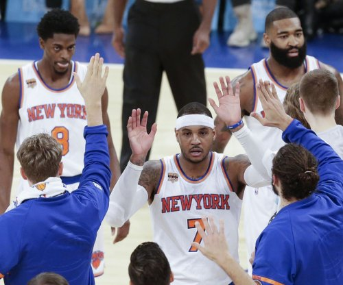 Knicks shopping Carmelo Anthony to Clippers, Cavaliers, Celtics