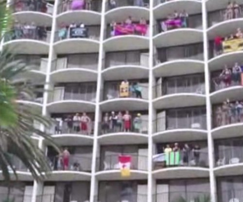 Florida hotel's 'Lion King' spring break wake-up goes viral