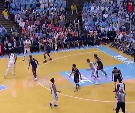 Justin Jackson, No. 10 North Carolina dominate No. 14 Virginia