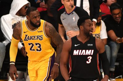 Heat look to remain hot as they visit LeBron James, Lakers