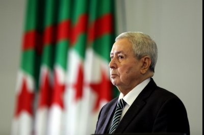 Algerian lawmakers appoint interim president for 90 days