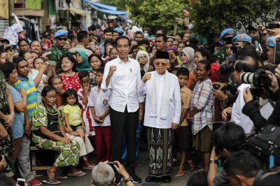 KPU: Joko Widodo re-elected as Indonesia's president