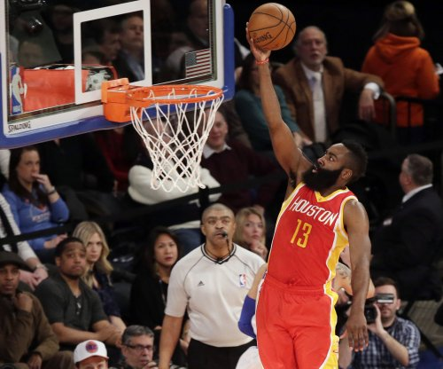 Smith, Harden help Houston Rockets hold off Dallas Mavericks