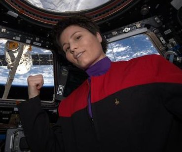 ISS astronaut joins cast of 'Star Trek' fan film