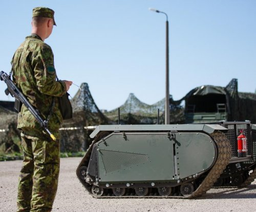 Estonian military tests unmanned ground vehicle
