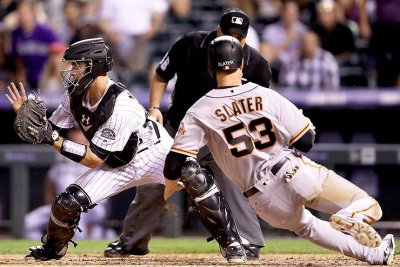 Austin Slater's homer leads San Francisco Giants comeback win over Atlanta Braves