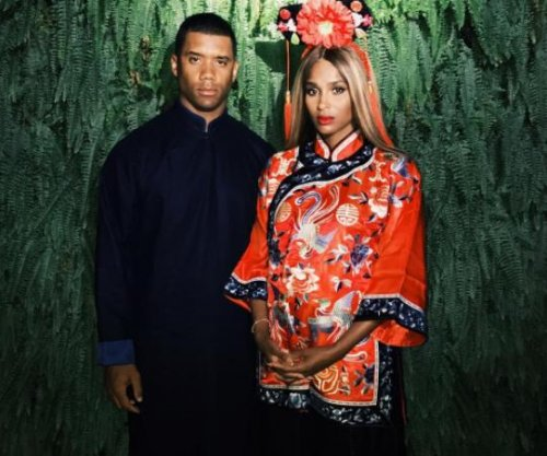 Ciara visits China with Russell Wilson and her children