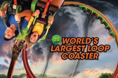 Six Flags announces world's largest loop coaster