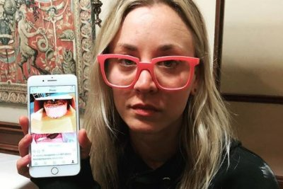 Jim Parsons spoils Kaley Cuoco's 33rd birthday surprise