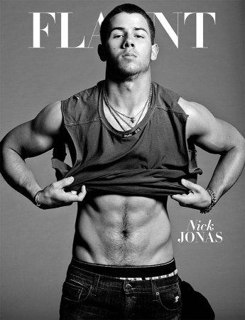 Nick Jonas stars in racy spread for Flaunt magazine
