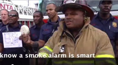 Watch: Atlanta firefighters sing prevention tips