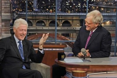 Bill Clinton booked for last appearance on 'Late Show with David Letterman'