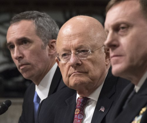 In Senate, U.S. intelligence chiefs defend claims Russia meddled in election