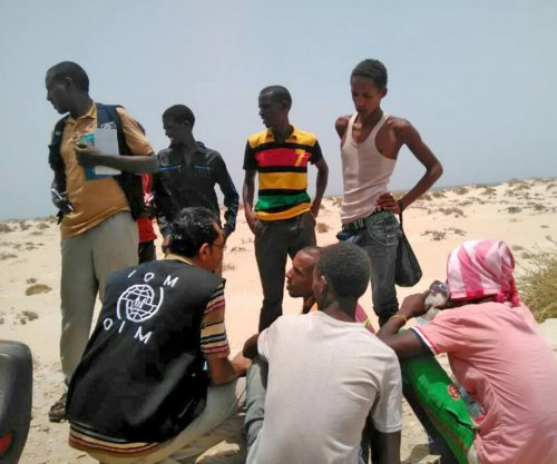 U.N.: Migrants pushed off boat for second time in two days