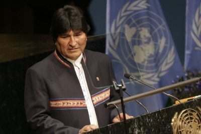 Bolivia's Morales to discuss gas, nuclear projects during Russia visit
