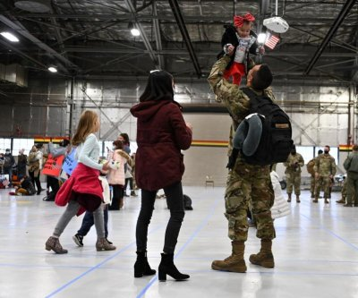 Air Force's 421st Fighter Squadron returns to U.S. base