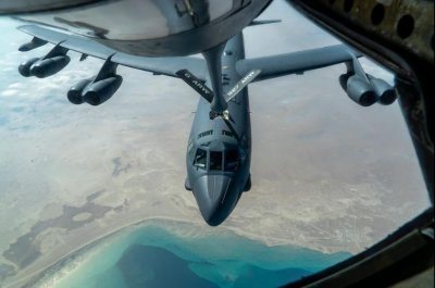 U.S. Air Force B-52s travel to Middle East for fourth time since November