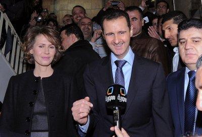 E-mails purport to show Assad private life
