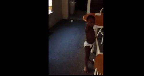 Cursing toddler in viral video moved to protective custody