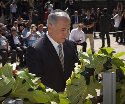 Netanyahu on Holocaust Remembrance Day: West incites anti-Semitism