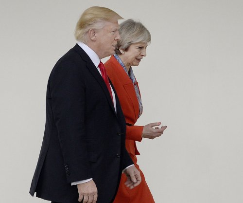 Trump, British PM May tout cooperation, shared vision at White House meeting