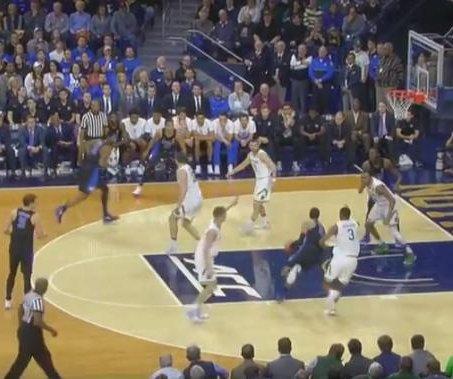 Grayson Allen propels No. 21 Duke past No. 20 Notre Dame