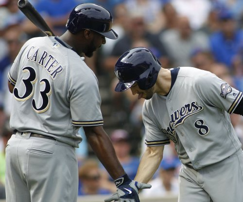 New York Yankees sign slugger Chris Carter to 1-year deal