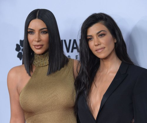 Kourtney, Kim Kardashian dazzle at 'The Promise' premiere