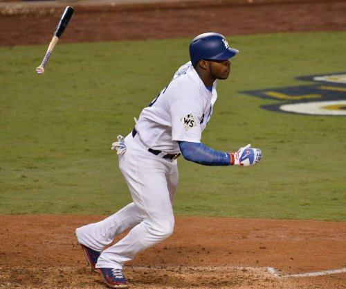 Dodgers' Puig continues hot streak, hits 434-foot homer vs. Marlins