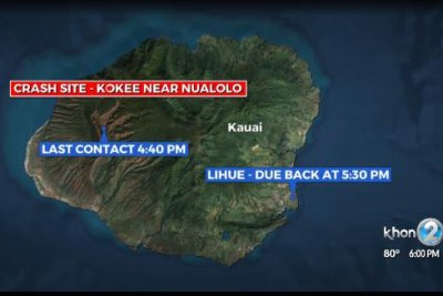 Six of 7 bodies on crashed Hawaii helicopter found