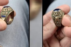 Rhode Island man reunited with lost class ring after 47 years