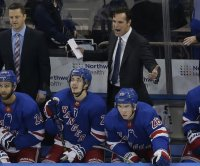 New York Rangers' coaching staff out Wednesday due to COVID-19