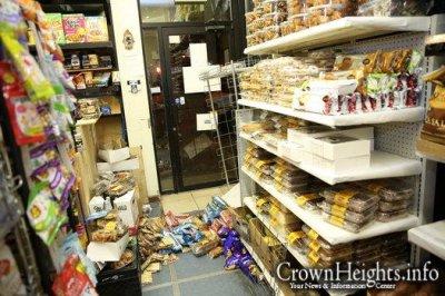 Teens trash Crown Heights butcher shop