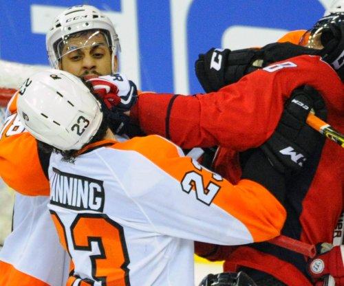 Philadelphia Flyers D Brandon Manning suspended 2 games