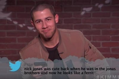 Nick Jonas, Pink read Mean Tweets on 'Jimmy Kimmel Live!'