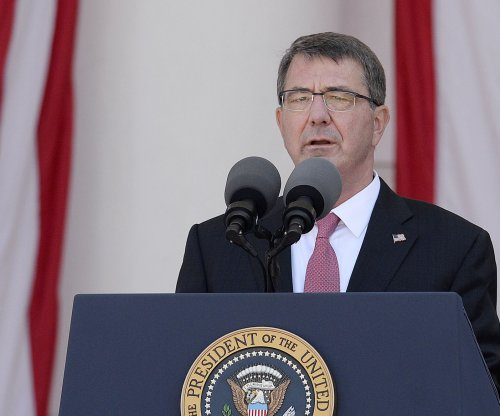 "Ash Carter calls for ""immediate and lasting halt"" to China's land reclamation"