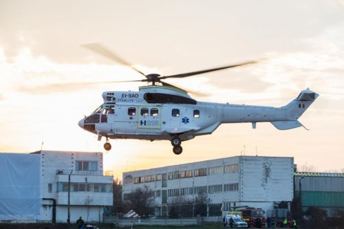 Airbus Helicopters building factory in Romania