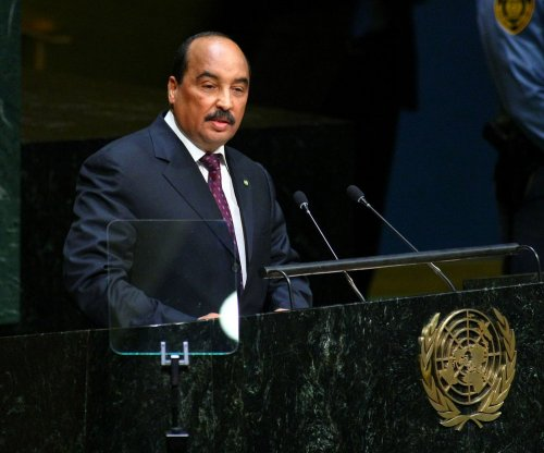 Mauritanian president may have ended boring soccer match