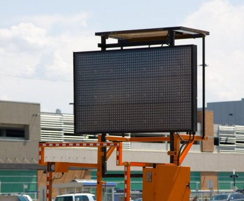 Texas man hacks electronic road sign to read 'Drive Crazy Y'all'