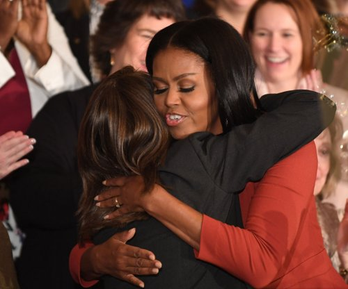 Michelle Obama emotional in final speech as first lady: 'I hope I have made you proud'